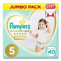 Pampers Premium Care Diaper Pants Junior Size 5 12-18kg 40 Count