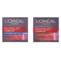L'Oreal Revittalift Laser Day Cream 50ml + Night Cream 50ml