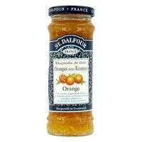 ST Dalfour Rhapsodie De Fruit Orange Flavour Jam 284g