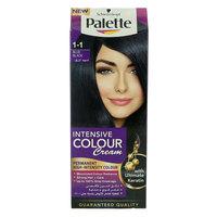 Schwarzkopf Palette Intensive Hair Color Cream  1-1 Blue Black