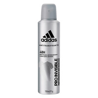 Adidas Invisible for Men Anti-Perspirant Deo 150ml Twin Pack