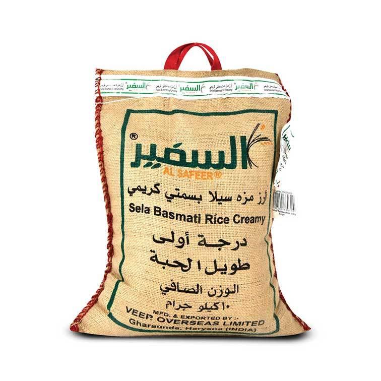 Buy Alsafeer Sela Basmati Rice 10 Kg Online Shop Food Cupboard On Carrefour Saudi Arabia
