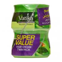 Vatika nourish and protect hair cream 140 ml × 2
