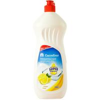 Carrefour Lemon Dishwashing Liquid Super Degreaser 750ml