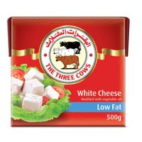 The Three Cows White Cheese Light 500g