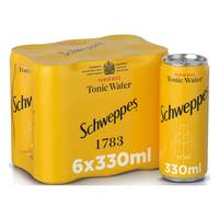 Schweppes Tonic Water 6 x 330ml