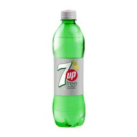 7UP Free Carbonated Soft Drink Plastic Bottle 500ml
