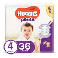 Huggies pants diapers size 4 jumbo pack 9-14 Kg 36 diapers