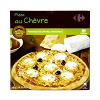 Carrefour pizza goat cheese 420 g