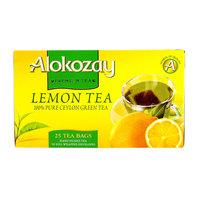 Alokozay Lemon Green Tea 25 Tea Bags