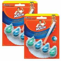 Mr Muscle Active Bathroom Clean Marine Tablets 38.6g x Pack of 2