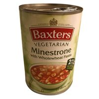 Baxters Minestrone Wholemeal Pasta Soup 400g