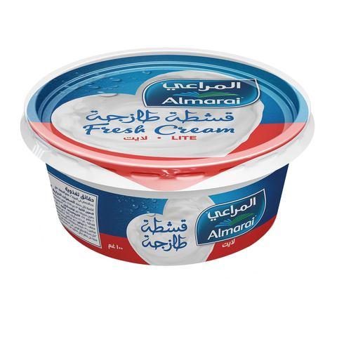 Buy Almarai Lite Fresh Cream 100 G Online Shop Fresh Food On Carrefour Saudi Arabia