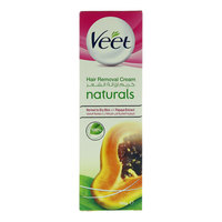 Veet Naturals Normal To Dry Skin With Papaya Extract Hair Removal Cream 100 g