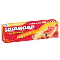 Diamond Large Zipper Bag 20 Piece