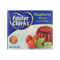 Foster Clark's Raspberry Flavour Jelly Dessert 85g