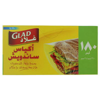 Glad Sandwich Fold-Top Bags Pack of 180