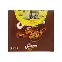 Tiffany chunko's choco chip cookies 43 g x 12