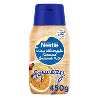 Nestle Sweetened Condensed Milk In Squeezy Bottle 450g