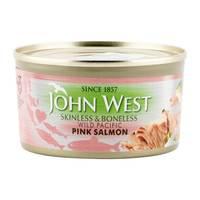 John West Skinless & Boneless Wild Pacific Pink Salmon 170g