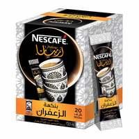 Nescafe arabiana instant arabic coffee mix with saffron flavor 3 g x 20 sticks