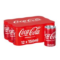 Coca cola can 12 x 150 ml