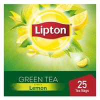 Lipton Lemon Green Tea 2g x Pack of 25