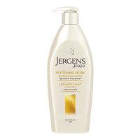 Jergens softening musk moisturizer for dry skin 400 ml