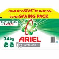 Ariel Automatic Detergent Powder Mega Box 14kg