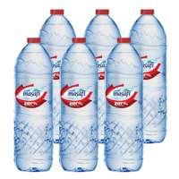 Masafi Zero Percent Sodium Drinking Water 1.5l x Pack of 6
