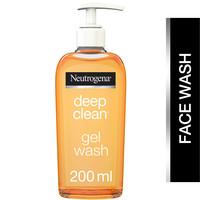 Neutrogena Facial Wash Deep Clean Gel 200ml