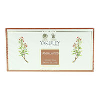 Yardley Sandalwood luxury Soap 100g x Pack of 3