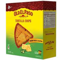 Old El Paso Cheese Jalapeno Chips 20g