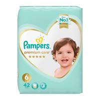 Pampers premium care 6 - 13 kg + 42 diapers