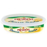 President Butter Salted Tub 250g