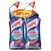 Harpic Toilet Cleaner Liquid Limescale Remover Original 750mlx2