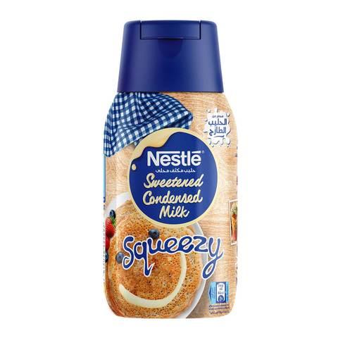 Buy Sweetened Condensed Milk Squeezy 450 G Online Shop Food Cupboard On Carrefour Saudi Arabia