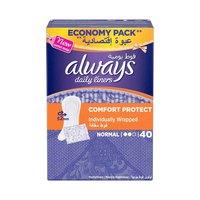 Always Ladies Pads Wrap & Fold 40 Pads