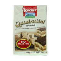 Loacker Quadratini Tiramisu Wafers 220g