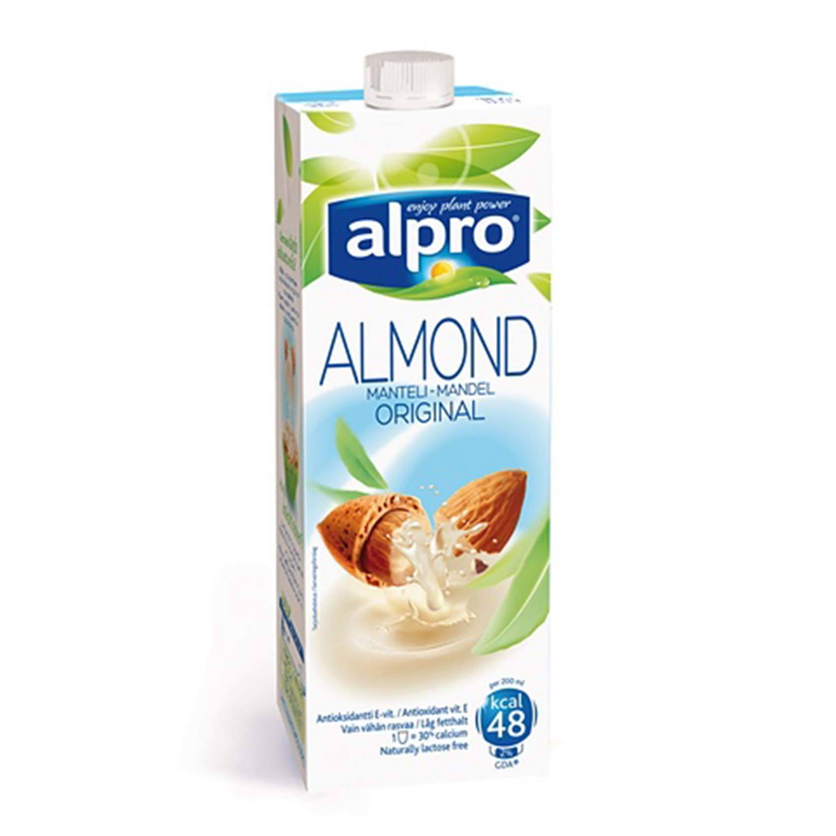 Buy Alpro Original Almond Milk 1 L Online Shop Fresh Food On Carrefour Saudi Arabia
