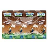 Lacnor Essentials Chocolate Milk 180ml x Pack of 8