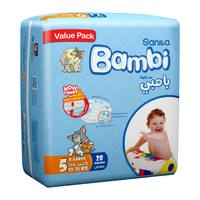 Bambi 5 value pack  5 xl 13 - 25 kg x 28