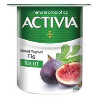 Activia Full Fat Stirred Fig Yoghurt 120g
