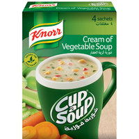 Knorr Cream of Vegetable Cup Soup Mix 18g x Pack of 4