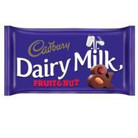 Cadbury Dairy Milk Fruit and Nut Chocolate 230g