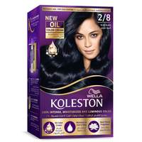 Wella Koleston Permanent Hair Color Kit 2/8 Blue Black