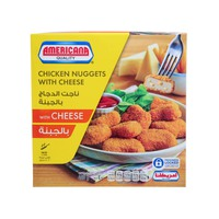 Americana Chicken Nuggets with Cheese 400g