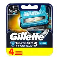 Gillette Fusion ProShield Chill Men's Razor Blades 4 Count