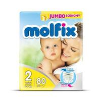 Molfix Diapers Jumbo Mini 3-6 Years 80 Sheets