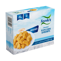 Foody's PopCorn Shrimp Breaded 250GR